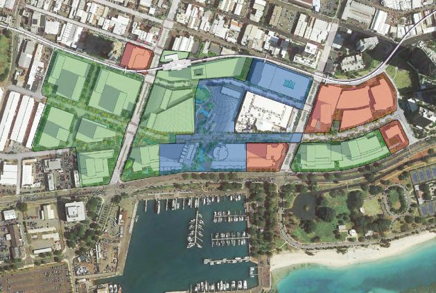 Kakaako - Ward Neighborhood Master Plan Phasing Diagram